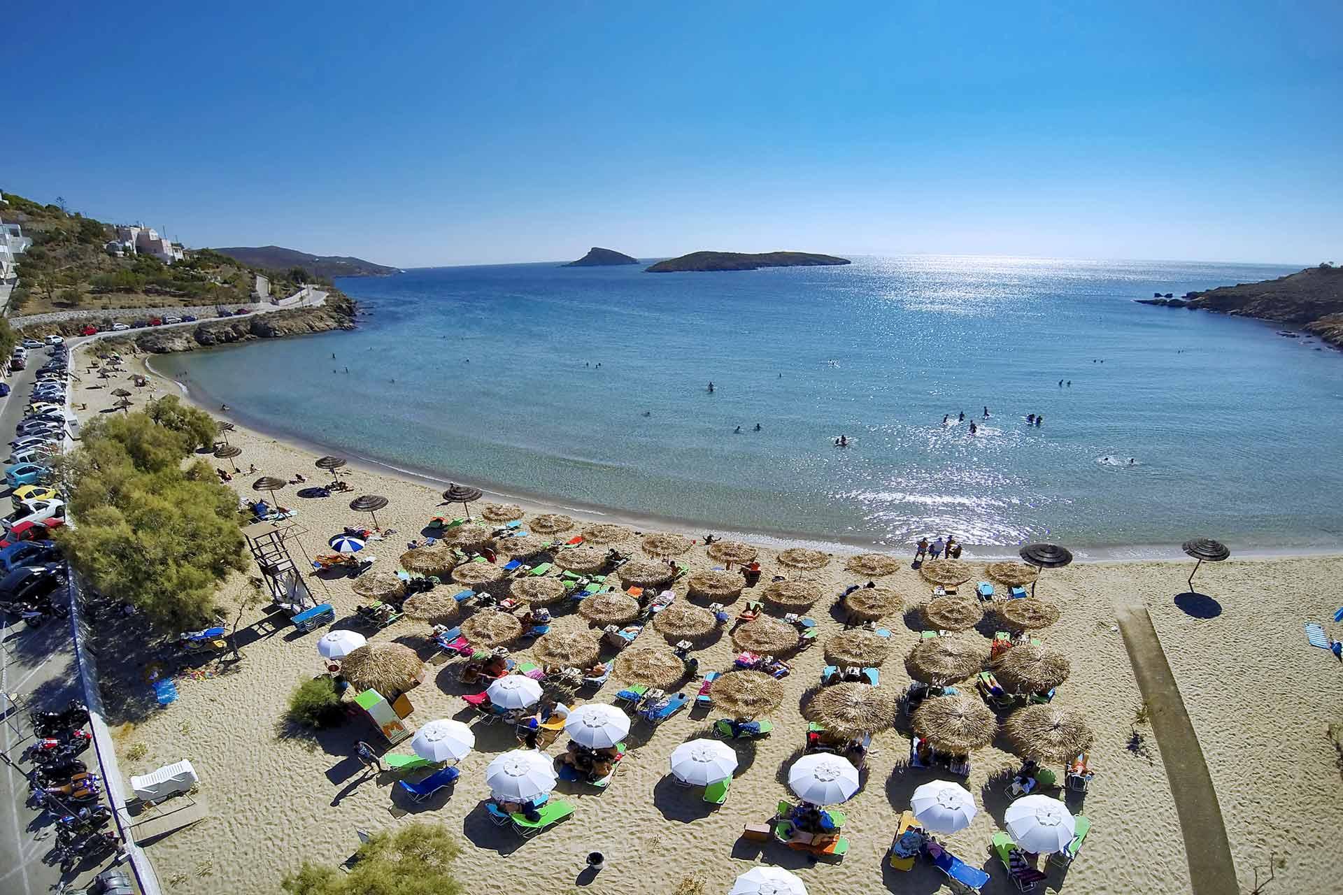 Αποτέλεσμα εικόνας για Παραλία Αγκαθωπές Συρος
